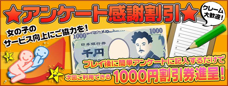 新橋ぽっちゃり風俗 ぽちゃカワイイ! アンケート割引